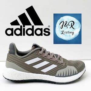 Adidas PulseBOOST HD Brown Running Shoes Size 7